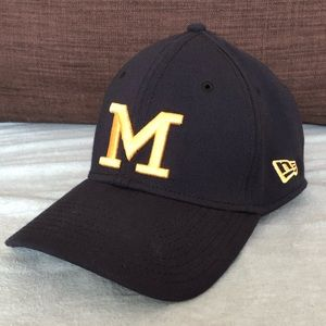 Michigan Wolverines NCAA Fitted New Era Hat